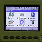 Leica 1205 Total Station Screen
